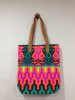 Best selling Print Neon Canvas Tote Bags New pattern