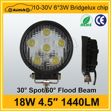 Hotsale CE,ROHS Certification led truck work lights 18w