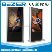 Digital LED touch screen all in one pc Interactive Kiosk Advertising Media Player