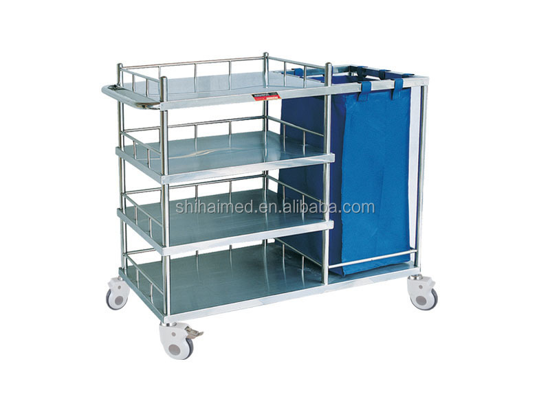 SH-018 Cart for Making Up Bed and Nursing cart