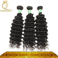 Good quality Cambodian hair deep wave bundles stronge and thick hair extensions