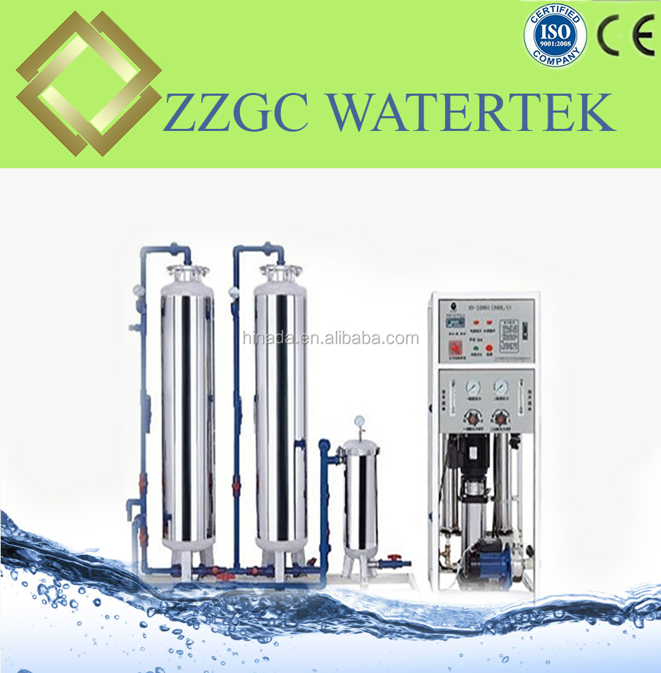 5000LPH water purification machines and packing the bottle