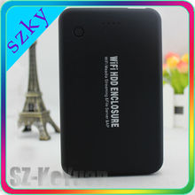 Beautiful Frosted Surface Hard Drive Case SATA USB3.0 2.5 WiFi HDD Enclosure