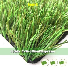 2017 Free Lead 50mm Stem Chinese Artificial Grass Soccer for Sports Flooring
