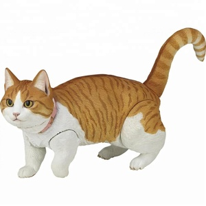 create your own design soft vinyl toy a munchkin cat character图片