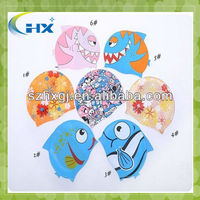 Factory Directly Sale Silicone Kid Swim /Swimming Cap