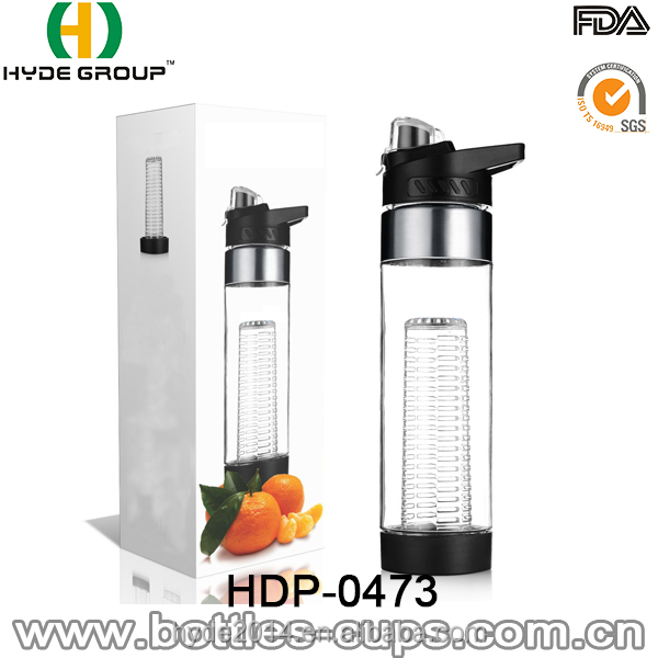 700ml Tritan Juicer Infuser, BPA-Free Water Bottle(HDP-0473)