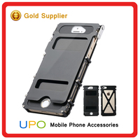 [UPO] Heavy Duty Hard Hybrid Armor King Stainless Steel Mobile Phone Case for iphone 5