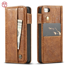 for iphone pouch leather case for iphone 5 5s se wallets new designs from CaseMe factory