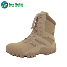 Factory direct sale cheap suede military army combat desert boots