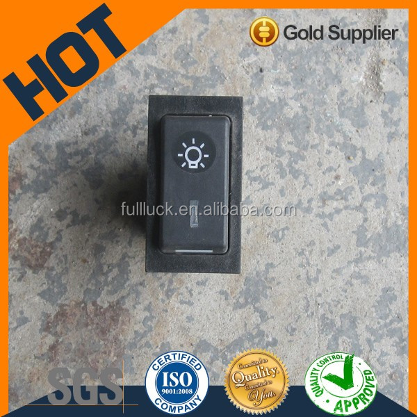 Electric soft touch light control switch