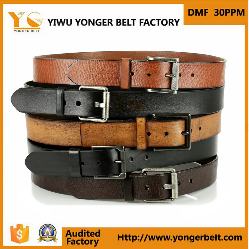 Hot Sales Belt Men High Quality Pin Buckle Belt Real Leather Belts For Man
