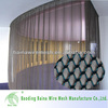 China supplier decorative fireplace metal screens/metal mesh curtain
