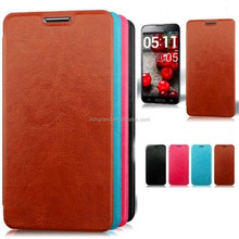 Genuine leather slim luxury flip case cover for Motorola Moto G