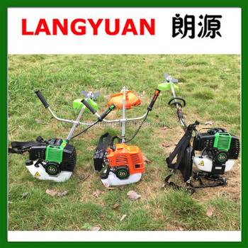 Low price 52cc 1.6kw gasoline grass trimmer brushcutter