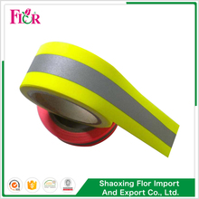 Webbing glow in the dark fabric clothes reflective tape