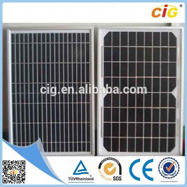 High Efficiency Top Class amorphous silicon solar panel manufacturers