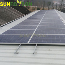 5kw Home Solar Panel Metal Roof Mounting Systems