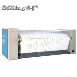 Shanghai 3 roller laundry mangle sheet ironing machine manufacture ISO,CE,SGS Certification