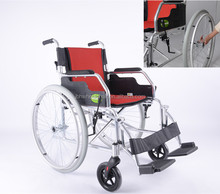 economy manual folding wheelchair with Removable wheels