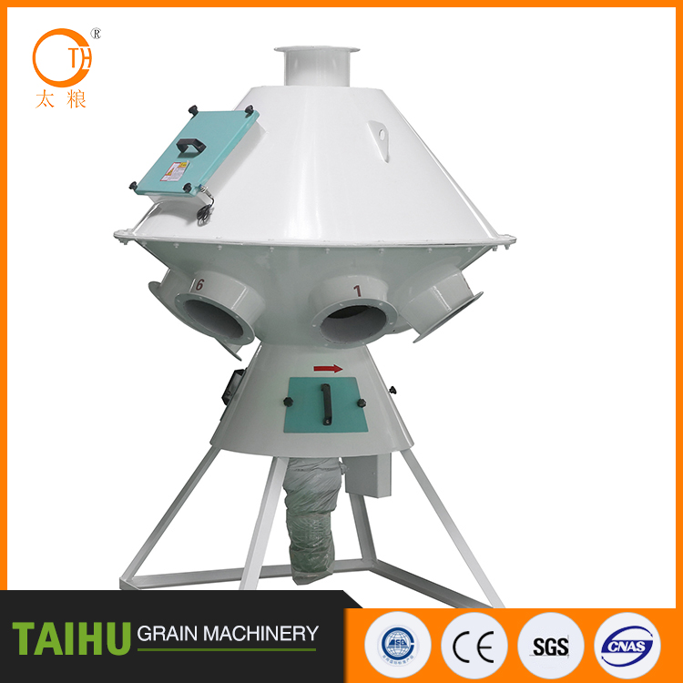 industrial mass production high china vibrating rotary screener Top quality