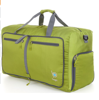 Wholesale foldable travel duffel bag for unisex
