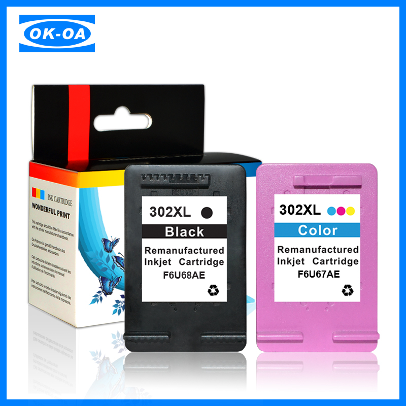 wholesale cartridge reset chip for hp 302 recycle printer ink cartridge