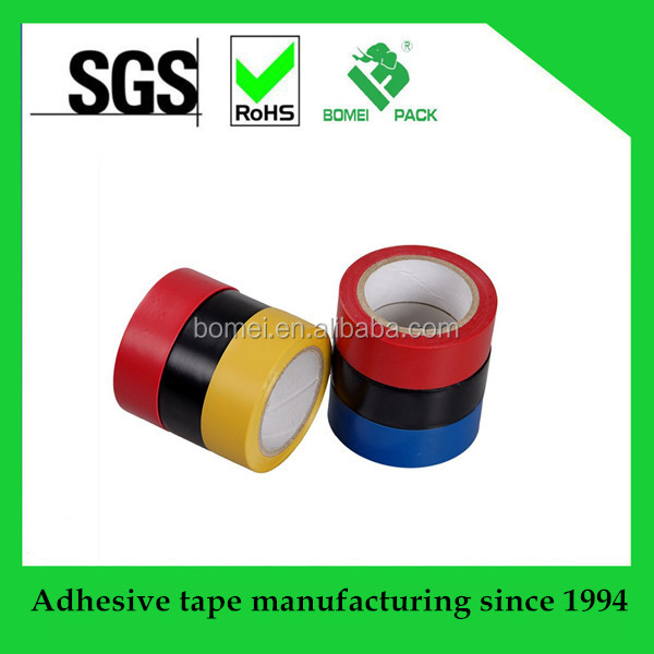 PVC insulative tape for wrapping electrical wires