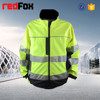 cheap tactical safety yellow softshell jacket