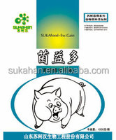Animal feed probiotics for fattening pigs