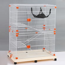 Three Or Two Layers Animal House Cat Cage With 4 Sizes