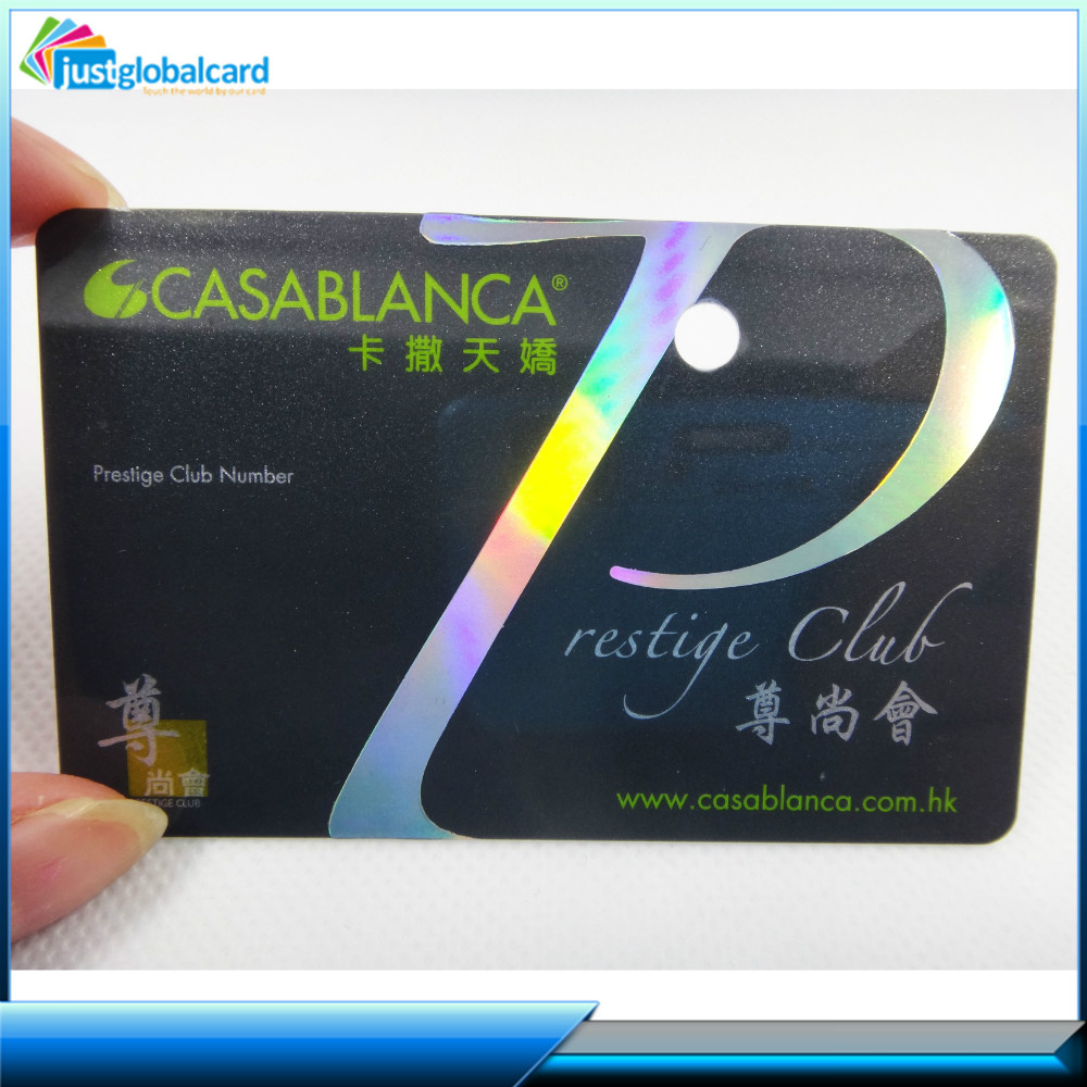 Top supplier afford free sample pvc black card printing membership vip card