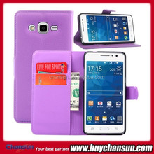 New products for Samsung G5308w Galaxy Grand Prime leather flip case