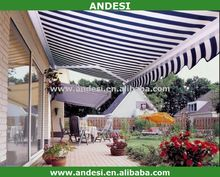 terrace roof retractable awning folding