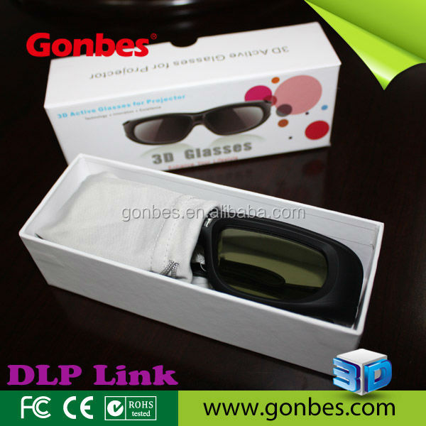 Cheap Price High Quality active shutter 3d Glasses, No MOQ, OEM printing