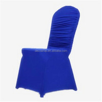 220gsm high quality fold spandex chair cover for banqute