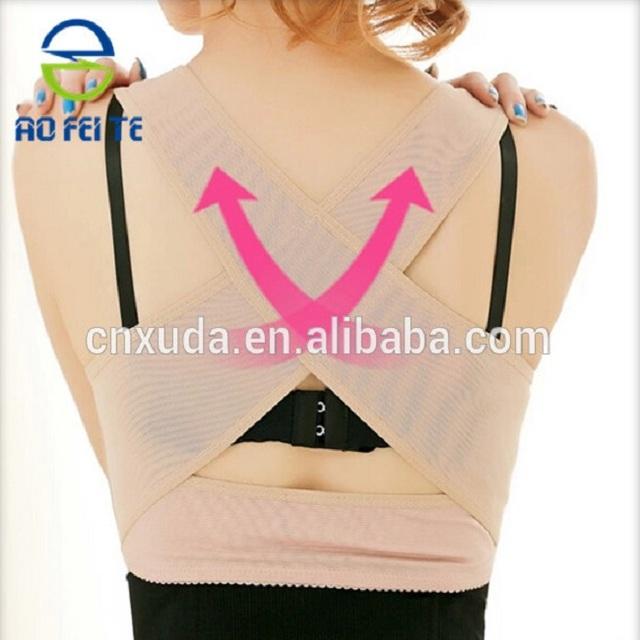 Push Up Body Shaper Bra, Back Support Posture Corrector Underwear, Breast Up Bra for Ladies