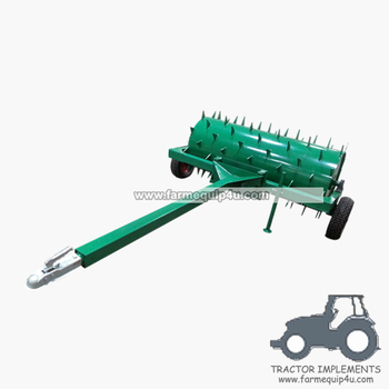 5ALRT20   ATV Lawn aerator roller with Spike tooth