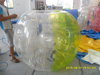cheap hanging ball chair bubble soccer ball for football