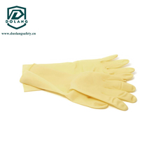clean disposable latex gloves,powdered or powder free