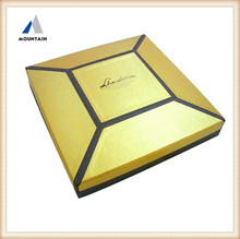 Mountain new product wholesale wedding invitations silk boxes white