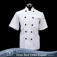 2015 New style polyester cotton kitchen clothing japanese chef uniform-SQJC150229
