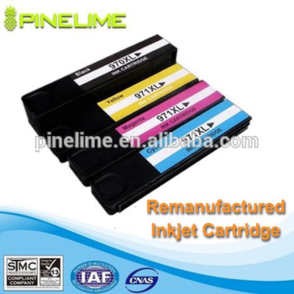 Remanufactured ink cartridge for hp14
