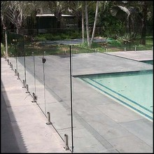 Tempered Glass Fence Panels For Swimming Pool Fencing
