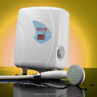 Instantaneous electrical portable shower tankless water heater