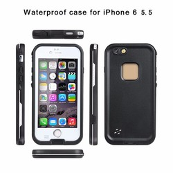 2 in 1 tpu +PC Combo Back Cover for iphone 6s plus waterproof Case