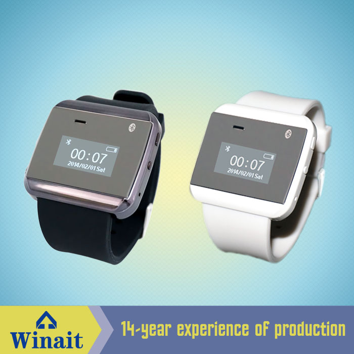 smart watch phone with speaker,mic,bluetooth,SMS,music player,gmail,waterproof