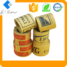 Custom printed kraft paper water activated tape for packing