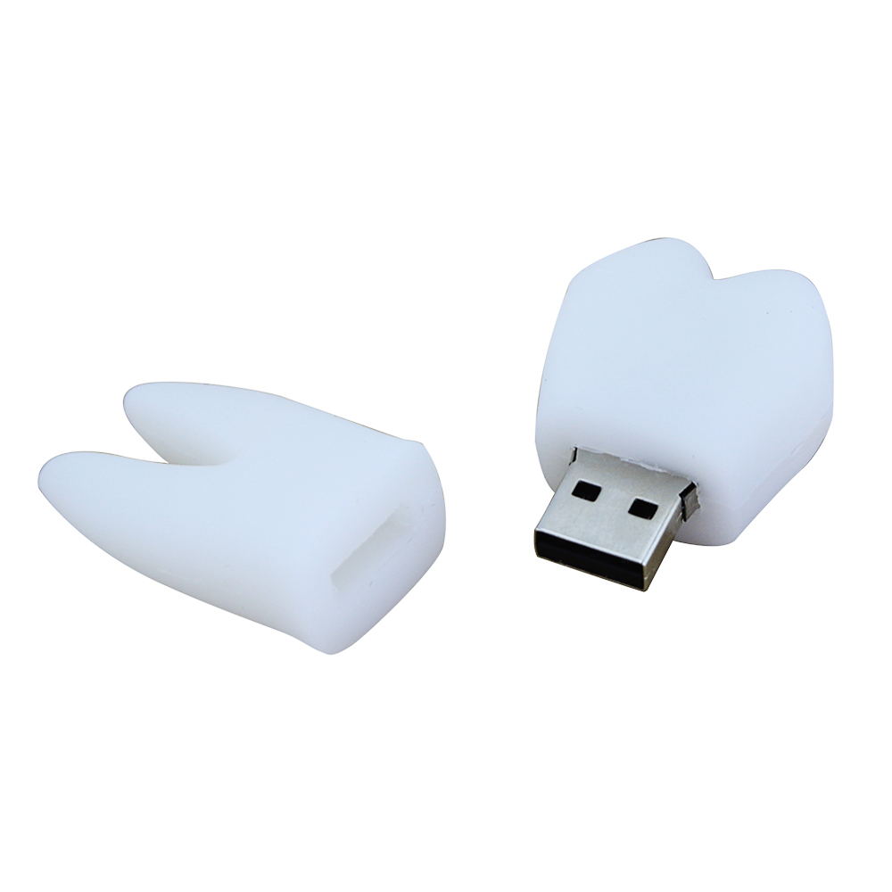 Promotional gift tooth shaped usb flash drive 1tb memory stick for sale