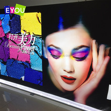 Flexible snap open LED display / light boxes with aluminium material